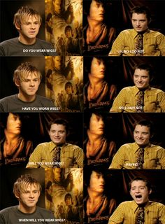 Dominic Monaghan and Elijah Wood interview