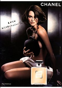 The Face of Beauty - Celebrity Fragrance: Keira Knightley is The Face of Chanel's Fragrance, Coco Mademoiselle Perfume Parfum Givenchy, Parfum Miss Dior, Kenzo Parfum, Perfume Chanel, Perfume Fragrance, Coco Chanel Mademoiselle, Keira Knightley Chanel, Keira Christina Knightley, Keira Knightley Body