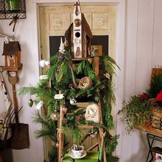A Ladder from Santa