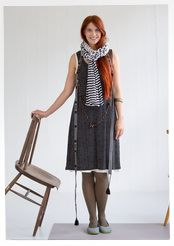 """""""Timjan"""" dress in micromodal/spandex – Gudrun's green choices – GUDRUN SJÖDÉN – Webshop, mail order and boutiques Colourful Outfits, Colorful Clothes, Home Textile, Natural Materials, Clothing Patterns, Dress Skirt, Textiles, Fashion Outfits, Boutique"""
