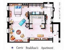 Carrie Bradshaw's Apartment : Gothamist