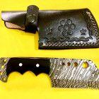 Damascus custom handmade full tang hunting tracker knife Hunting Knives, Damascus Steel, Handmade, Hand Made, Handarbeit