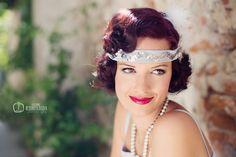 Katarina Nedoroscikova Photography: Janka alá 30-te roky 30th, Crown, Photography, Jewelry, Fashion, Moda, Corona, Photograph, Jewlery