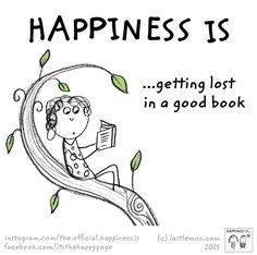 Happiness is...getting lost in a good book. #HarlequinBooks #FortheLoveofBooks