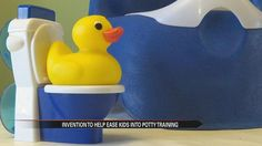 The art of potty training children takes a lot of work and is not always the easiest feat for parents! But one inventor has found a unique and fun way to ease kids into this new life changing exper...