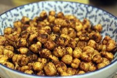 Toasted Chick Peas. Yes, Please