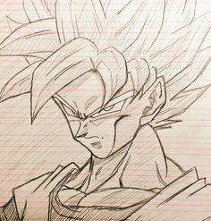Art Manga, Manga Drawing, Dragon Ball Z, Ball Drawing, Perspective Art, Anime Drawings Sketches, Bike Art, Character Drawing, Artwork