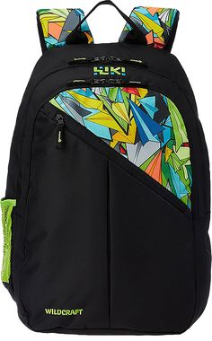Buy Wildcraft 33 ltrs Black Casual Backpack (8903338054900) from Amazon.