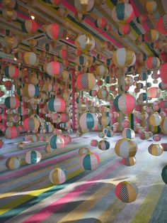 Beach Balls as an alternative to balloons!