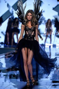 Pin for Later: See Every Jaw-Dropping Look From the Victoria's Secret Fashion Show Victoria's Secret Fashion Show 2014 Behati Prinsloo