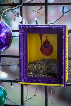 Peekaboo, Charley Harper, Eva Pils Birdhouse, Mahlzeit Charley Harper, Birdhouse, Birds, Frame, Diy, Design, Home Decor, Meal, Picture Frame
