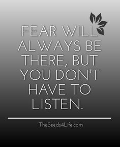 #life #quote #fear #mind #anxiety