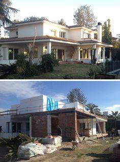 Vuelta de Semana Santa y el proyecto de 08023 Arquitectos para la transformación de una vivienda en Alella ya tiene un aspecto nuevo.  ¿Jugamos a las diferencias?