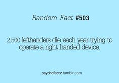 Not so funny since I'm left-handed