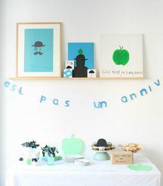 magritte party via miko design