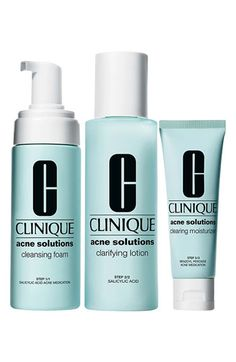 Clinique 'Acne Solutions' Clear Skin System available at #Nordstrom