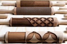 these are amazing! laser cut rolling pins