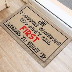 Did You Call First Doormat Funny Doormat Call First Door | Etsy Gifts For Husband, Fathers Day Gifts, Gifts For Him, Jeep Gifts, Jeep Baby, Student Teacher Gifts, Front Door Mats, Camping Blanket, Funny Doormats