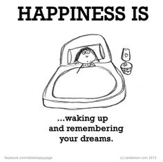 the most of the time I never remember my dreams :(