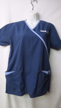 Fashion Seal Scrub Top size XS VCA blue #FashionSeal