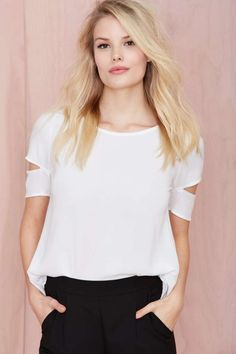 With the Band Tee | Shop Tops at Nasty Gal