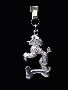 Sterling Silver Poodle Charm or Pendant