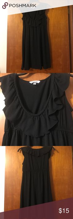 Black Sundress -- NWOT Super cute and airy sundress!! New without tags, but never worn! Dresses