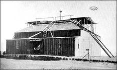 Tesla's Colorado laboratory in 1899.