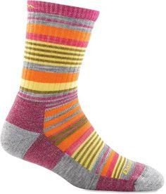 Darn Tough Sierra Stripe Micro Crew Hiking Socks - Women's
