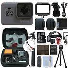 GoPro HERO5 Black Waterproof 4K Camera Camcorder + 32GB Accessory Kit