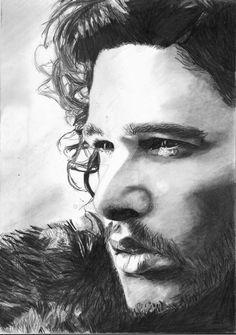 Jon Snow-Kit Harington by bclara88 on DeviantArt
