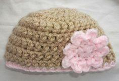 baby beanie-crochet hat-free crochet hat patterns