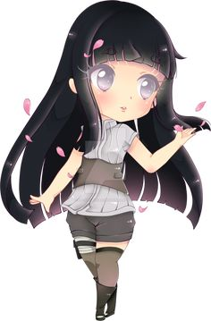 hinata chibi from the last naruto movie