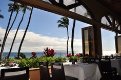 5 Palms Restaurant Overlooking the stunning coastline of Keawakapu Beach, Maui, 5 Palms Restaurant features innovative Maui Coastal Cuisine accompanied by spectacular sunsets over the sparkling blu…