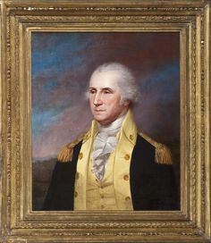 An Early Portrait of George Washington by One of America's Foremost Portrait Artists