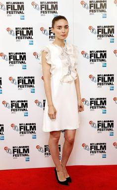 Rooney Mara in Giambattista Valli - 'Carol' - Photocall - BFI London Film Festival - October 14, 2015