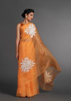 Saree Blouse Neck Designs, Saree Blouse Patterns, Indian Dresses, Indian Outfits, Organza Saree, Silk Sarees, Indian Sarees, Fancy Sarees, Georgette Sarees