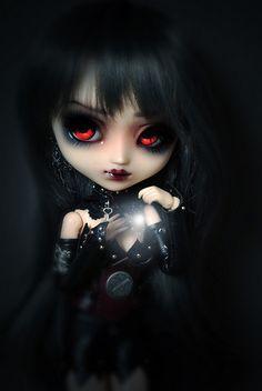 """""""Khamik"""" by Maurine Dark Gothic Art, Gothic Fantasy Art, Gothic Fairy, Creepy Art, Creepy Dolls, Beautiful Dark Art, Beautiful Dolls, La Muerte Tattoo, Arte Steampunk"""