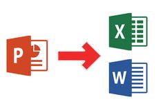 How to embed PowerPoint file in to Excel workbook and Word document? Microsoft Office, Company Logo, Logos, Logo