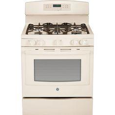 GE Appliances JGB750DEFCC 5.6 Cu. Ft. Gas Range W\/ Convection   Bisque