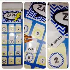 ZAP! A review game for any grade level and any subject! Just add the questions! it's FREE in my TPT store!