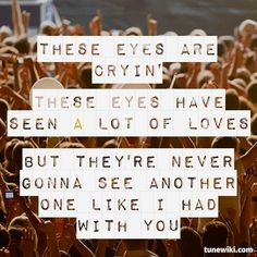"""-- #LyricArt for """"These Eyes"""" by The Guess Who"""