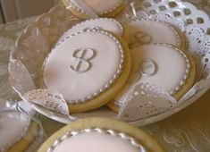 "Biscotti decorati ""Monogram cookies"""