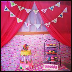 Candy Land baby shower theme for my sister's baby shower.