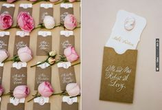 rose escort cards   CHECK OUT MORE IDEAS AT WEDDINGPINS.NET   #weddings #uniqueweddingideas #unique