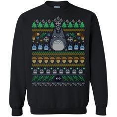 Christmas Ugly Sweater Tonari no Totoro Hoodies Sweatshirts