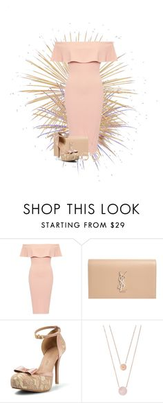 """""""Beiges and Roses"""" by ggmusicista on Polyvore featuring moda, Yves Saint Laurent e Michael Kors"""