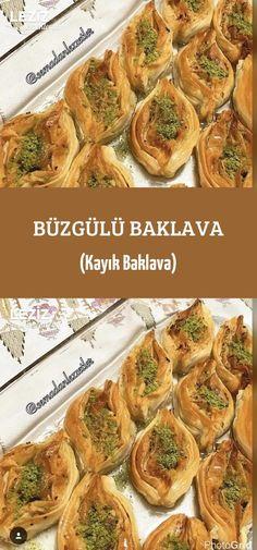 Büzgülü Baklava (Kayık Baklava) Turkish Dessert, Zucchini, Brunch, Vegetables, Breakfast, Desserts, Recipes, Food, Morning Coffee