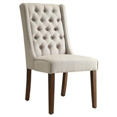 Accent+Seating+Accent+Chair/Side+Chair+with+Tufted+Back