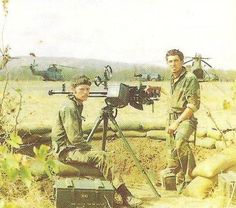 Rhodesian position with Type 54 heavy machinegun, Chinese copy of DShKM. Military Art, Military History, All Nature, Ol Days, My Heritage, Zimbabwe, Vietnam War, Cold War, Weapons